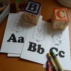 Английские буквы. Развивающие раскраски