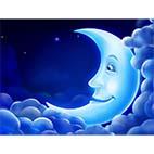 Раскраски луна, месяц. Скачать бесплатно