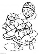 Раскраски для маленьких. Игрушки, транспорт. Самолет