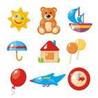 Раскраски для самых маленьких детей. Игрушки