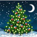 Раскраски праздники. Новогодние елки