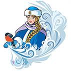 Раскраски Снегурочка распечатать