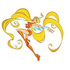 Раскраски Стелла из Винкс