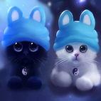 Раскраски домашние животные - кошки, коты, котята
