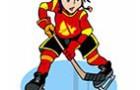 Раскраски хоккей. Зимний спорт