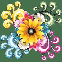 Разукрашки цветы раскрасить