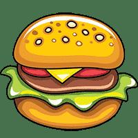 Картинки раскраски еды, продуктов, сладостей