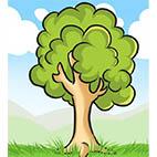 Природа - скачать раскраски деревья