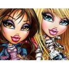 Куклы Братц - скачать бесплатно раскрашки для девочек