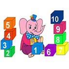 Раскраски развивающие цифры для дошкольников