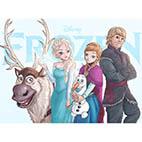 Раскраски для девочек из мультфильма Диснея Холодное сердце