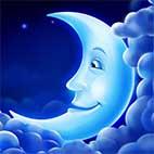 Раскраски природа распечатать. Луна и месяц