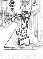 Скачать раскраски из мультфильмов