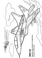 Раскраска военные самолеты. Скачать и распечатать