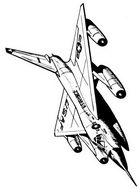 Раскраски военные самолеты. Скачать бесплатно
