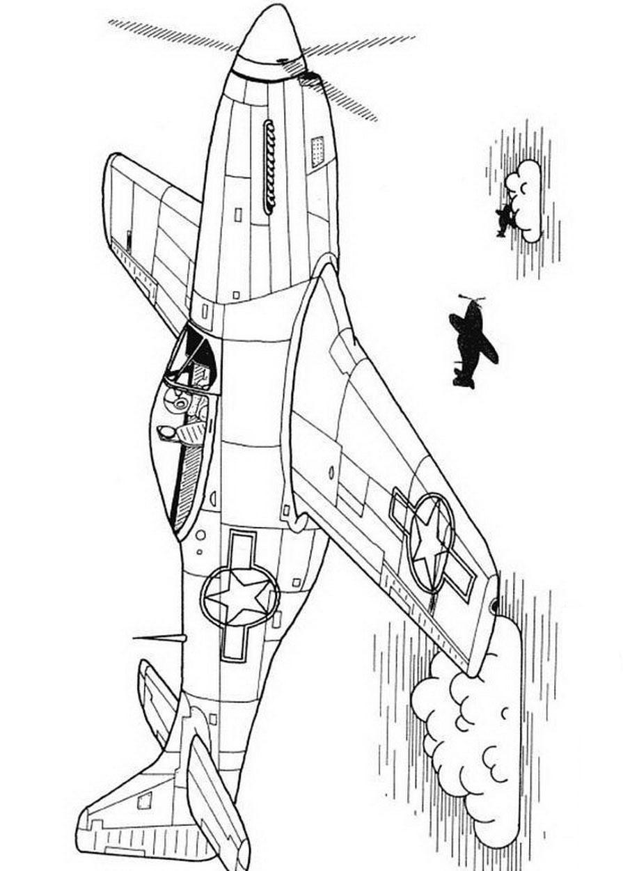 Раскраски самолеты. Распечатать